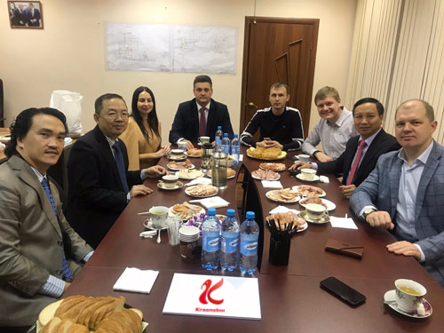 Krasnobor receives delegation from Vietnam