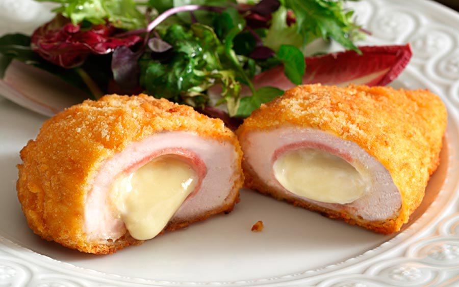 New frozen semi-finished product - Cordon Bleu